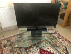 *Like New* Glass TV stand