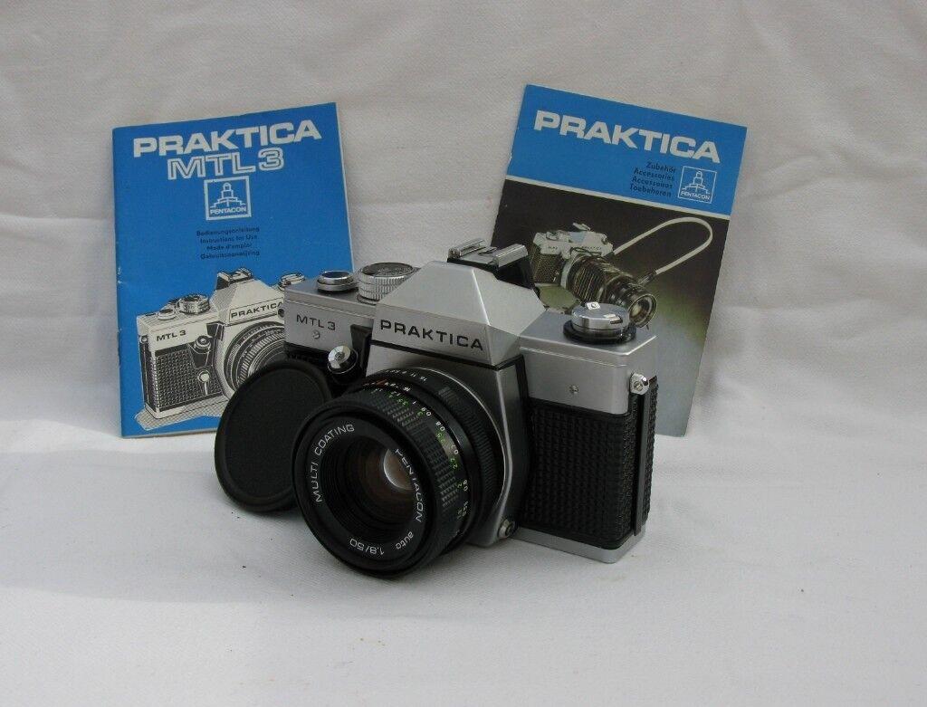 Praktica mtl b m mount cameras photo album by