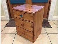 Twin Pair of Medium Size Chest of Drawers