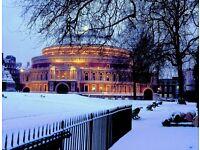 Bartender, rhubarb, Royal Albert Hall, South Kensington.