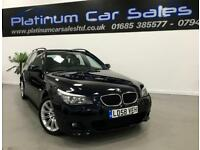 BMW 5 SERIES 520D M SPORT TOURING (black) 2008