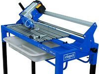 WET ELECTRIC TILE CUTTER SAW 85 CM WATER COOLED 1250W SCHEPPACH FS850. SURREY