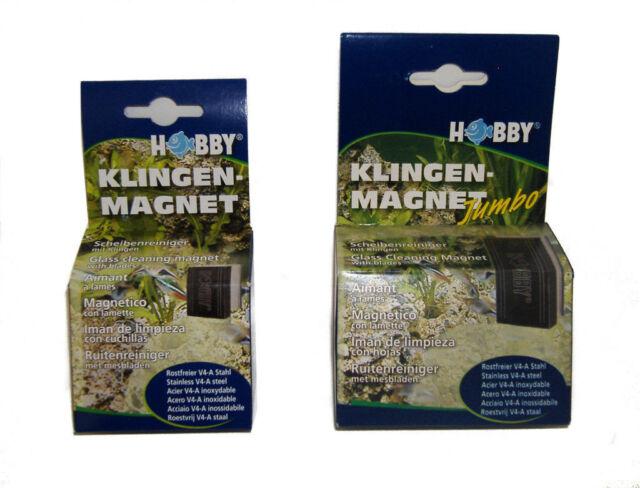 HOBBY MAGNETISCH GLAS WASCHMITTEL für Aquarien - Reguläre oder Jumbo größe