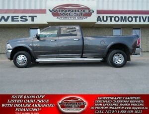 2014 Dodge Ram 3500 LARAMIE CUMMINS DUALLY 4X4, NAV, CAMERA, 1-O