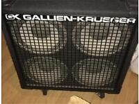 Gallien-Krueger bass cab 4x10