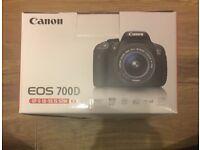 Canon EOS 700D camera kit