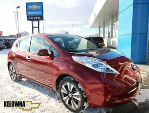2015 Nissan LEAF 4DR HB SL, Fully Electric, Bluetooth, Back Up C