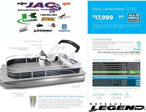 2016 legend boats Enjoy Transporting Mercury 25 EL **Premium pac