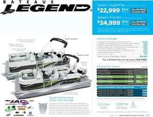 2016 legend boats Splash Plus Superflex Mercury 15 EL **Premium