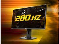 27 INCH ASUS TUF 280HZ Gaming Monitor / Display / Screen