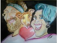 Caricatures for weddings and other events