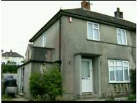 2 bedroom house in whitleigh for swap