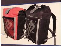 NEW Overboard Pro-Sports Waterproof Backpack Rucksack Bag - Red 30 Litres, sealed