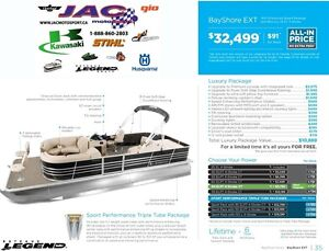 2016 legend boats Bayshore Ext Mercury 25 EL **Premium package 1