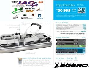 2016 legend boats Enjoy Friendship Mercury 25 EL **Premium packa