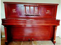 Piano - unable to retune. Ideal for production prop or display item.