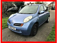 2005 Nissan Micra 1.2 16v SE 5dr --- Automatic --- Part Exchange Welcome --- Drives Good