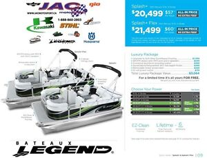 2016 legend boats Splash Plus Flex Mercury 15 EL **Premium packa