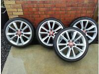 Vauxhall vxr 19inch alloys