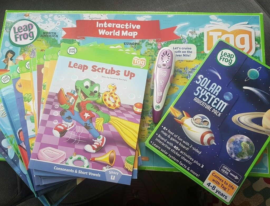 Leapfrog pen with 10 interactive books solar system pack and leapfrog pen with 10 interactive books solar system pack and interactive world map gumiabroncs Gallery