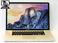 " 2.2Ghz 17"" Core i7 Apple MacBook Pro 8gb 750GB Logic Pro X Ableton 9 Final Cut Pro X AutoCad "