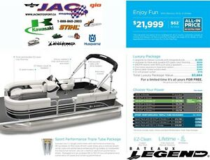 2016 legend boats Enjoy Fun Mercury 25 EL **Premium package 3,66