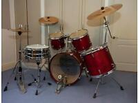 Perfect for Christmas - Yamaha Stage Custom with Zildjian Cymbals.