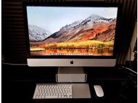 """Apple iMac 27"""" Late 2013, i7, HighSierra+Windows 10 Pro, SSD 1TB , 24GB RAM, 4GB Nvidia GTX780M"""