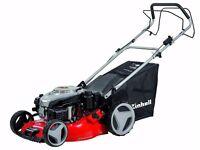 """Einhell 18"""" Petrol Key-Start (Electric Start) Self-Drive Lawn Mower Lawnmower + WARRANTY! RRP £400!"""