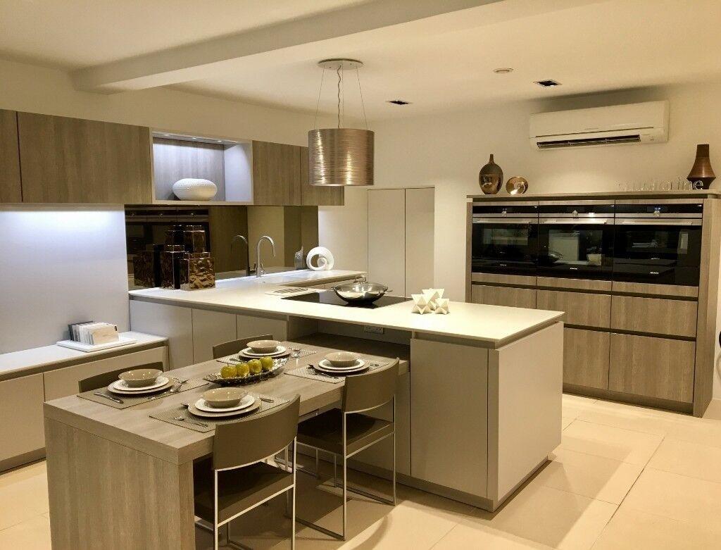 outstanding modern red kitchen | OUTSTANDING OFFER!! Modern Designer Kitchen for Sale - Ex ...