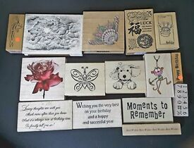 Various Birthday craft stamps and more