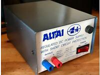ALTAI 12v DC Power Station REGULATED DC POWER SUPPLY with Short Circuit Protection