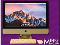 "27"" APPLE iMac 2.8Ghz QUAD CORE 8GB RAM 1TB HD FINAL CUT PRO X ADOBE CS6 CINEMA 4D AUTOCAD LIGHTROOM"
