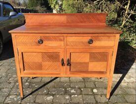 Beautiful Edwardian Sideboard/Cabinet/Cupboard in Oak