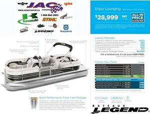 2016 legend boats Enjoy Lounging Mercury 25 EL **Premium package