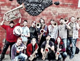 Brass & sax players wanted for New Orleans style covers band
