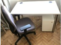 HOME-WORKERS - DESKS FOR SALE / PEDESTALS +CHAIRS - ARE AVAIL TOO / VG COND ( READ AD PLS )