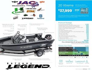 2016 Legend Boats 20 Xtreme Mercury 75 ELPT **Premium package 6,