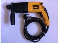 DeWALT D25002 - 2 Mode SDS Plus Rotary Hammer Drill 600W 240V Fully Refurbished