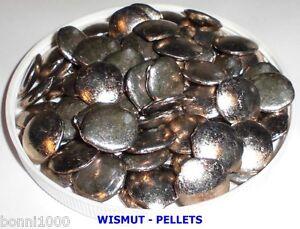 Wismut pellets bi bismut wismuth 100g grundpreis eur 7 - Precio kilo pellets ...