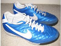 Nike TIEMPO astro turf boots - Size 7