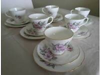 Pretty Vintage China Tea Set