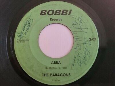 CAROLINA GARAGE 45 by THE PARAGONS ON BOBBI ULTRA RARE HEAR IT