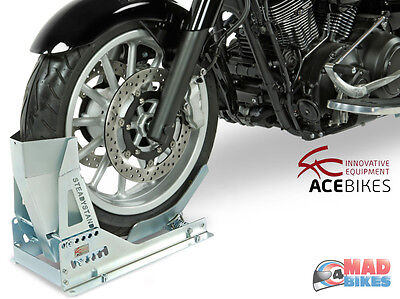 Acebikes Steadystand Multi Motorcycle Motorbike Wheel Chock,Transport Stand Stay