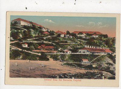 General View The Barracks Dagshal India 1917 Postcard 854a