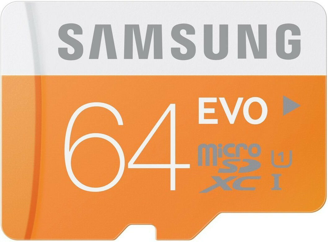 Samsung EVO 64GB Micro SD SDXC Class 10 Memory Card for Sams
