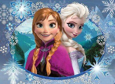 Frozen Princess Anna / Elsa Iron On Transfer 6.25