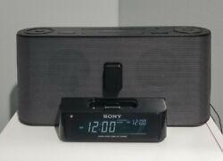 Sony Dream Machine iPhone / iPod Dock ICF-C1iPMK2 AM/FM Alarm Clock Radio