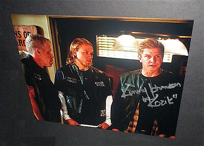 Sons Of Anarchy   Kenny Johnson     Kozik    Signed In Person  Photo     1
