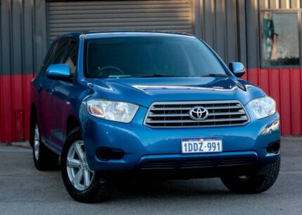 2009 Toyota Kluger KX-R Auto  SEVEN SEATER